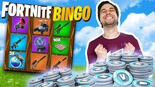 Verliezer betaalt V-Bucks voor winnaar! 💰  - Fortnite Extreme Bingo