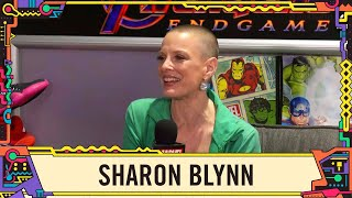 Sharon Blynn on her role as Soren in Captain Marvel at SDCC 2019!
