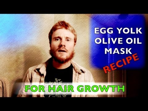 How to GROW your HAIR: THICKER & FASTER (EGG YOLK/OLIVE OIL MASK RECIPE)