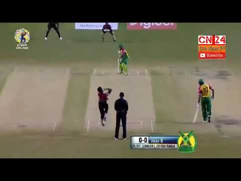 Cpl match 30 Highlights Guyana Amazon worrior Vs trinbag knights riders