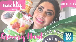 WEEKLY MYWW GROCERY HAUL FOR WEIGHT LOSS | WEIGHT WATCHERS!