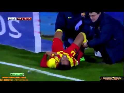 LA LESIÓN DE NEYMAR JR. FC BARCELON VS GETAFE ★BY TGROSSO★