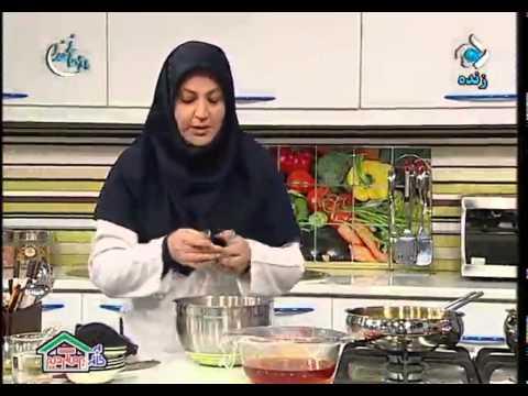 کیک شربتی خانم گل آور اشپزی خانم گلاور