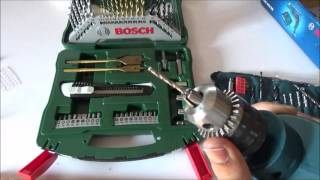 How to use a drill machine with Bosch GSB RE 450-Watt kit
