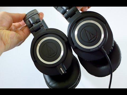 NEW! Audio Technica ATH-M50x comparison with Original M50