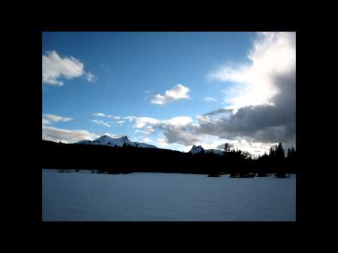 30 sec. Timelapse - Tuolumne Meadows in the Winter