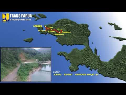 Download Lagu Ruas Jalan Trans Papua di Prov.  Papua Barat MP3 Free