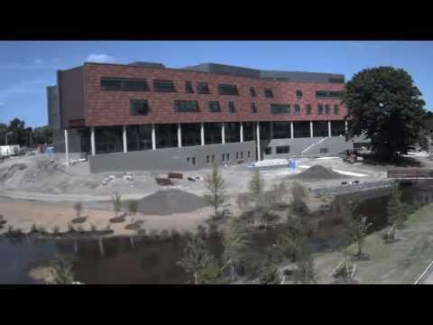 Oakland University Human Health Building Timelapse