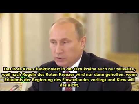 Unfassbare Entwicklungen in der Ukraine ll Russlands Präsident Putin 18.10.14