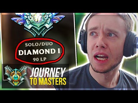 1 WIN FROM MASTER PROMOS... - Journey To Masters | League of Legends