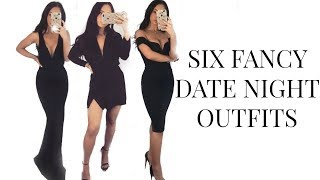 FANCY DATE NIGHT OUTFITS - VALENTINE'S DAY OUTFIT IDEAS + MISSGUIDED HAUL
