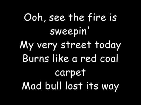 The Rolling Stones-Gimme Shelter + Lyrics