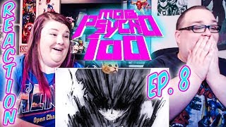 "Mob Psycho 100 Episode 8 REACTION!! ""The Older Brother Bows ~Destructive Intent~"""