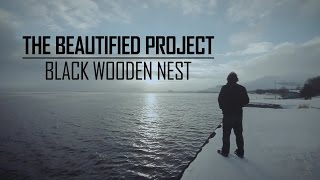 Black Wooden Nest. The Beautified Project