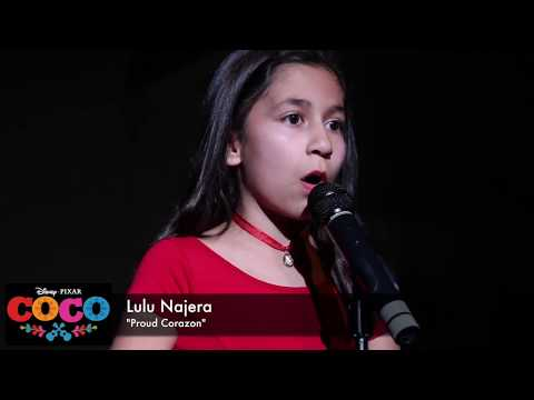 """Proud Corazon"" from Coco (Cover by Lulu Najera)"