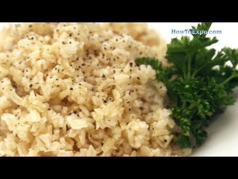 How To Cook Organic Basmati Brown Rice Recipe
