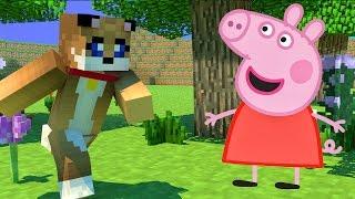 Minecraft - PUPPYY NAMORANDO A PEPPA PIG! [60] Meu Amável Mundo!