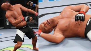 EA Sports UFC 2 Career Mode - I'm Leaning! Gameplay