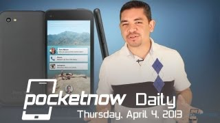 Facebook Home and HTC First Announced, Curved iPhone 5s, Nokia Catwalk & More - Pocketnow Daily