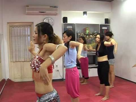PHÓNG SỰ DẠY MÚA BỤNG TRÊN TRUYỀN HÌNH HÀ NỘI 2_Cleopatra club_0989681858 www.vananh.vn