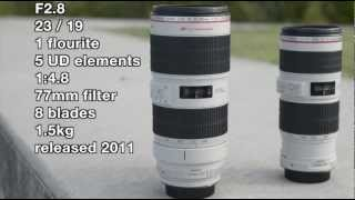 F2.8 vs F4 - Canon 70-200mm lenses