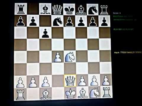 KARO-KAN sahovsko  otvaranje ; Gurnhill vs Banks - Beli matira- Smislov varijanta #06