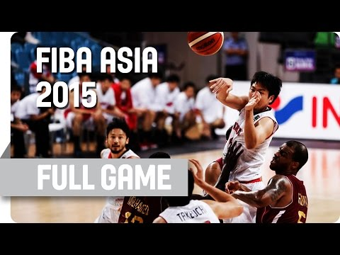 Japan v Qatar - Quarter-Final - Full Game - 2015 FIBA Asia Championship