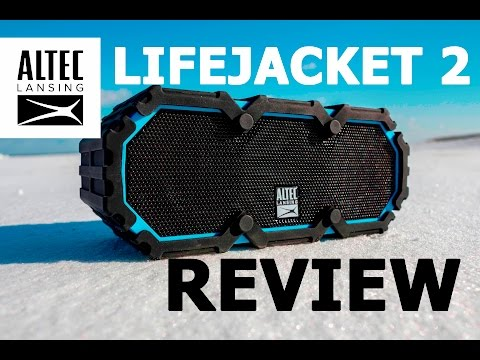 Altec Lansing LifeJacket 2 Everything Proof Best Bluetooth Speaker Review & Test