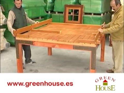Casita infantil de madera robinson youtube - Como hacer una casa de madera para ninos ...