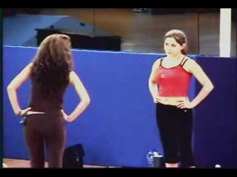 Jolette y Johanna enfrentamiento en la clase de vocalizacion
