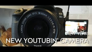 New Years Day 2018: New year, new vlogging camera (Canon 80D)
