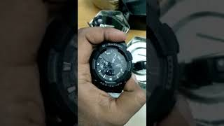 How to set time and date on G-Shock watch (Hindi Version)