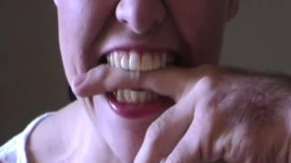 Biting fingers
