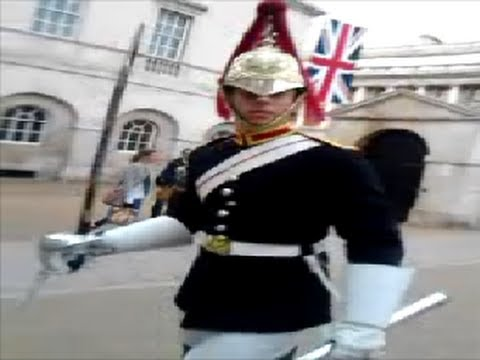 Queen's Horse Guards: fuck Off! And Attack! video