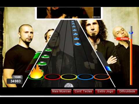 Guitar Flash Chop Suey System Of A Down 100 FC RECORD Prisley Jr