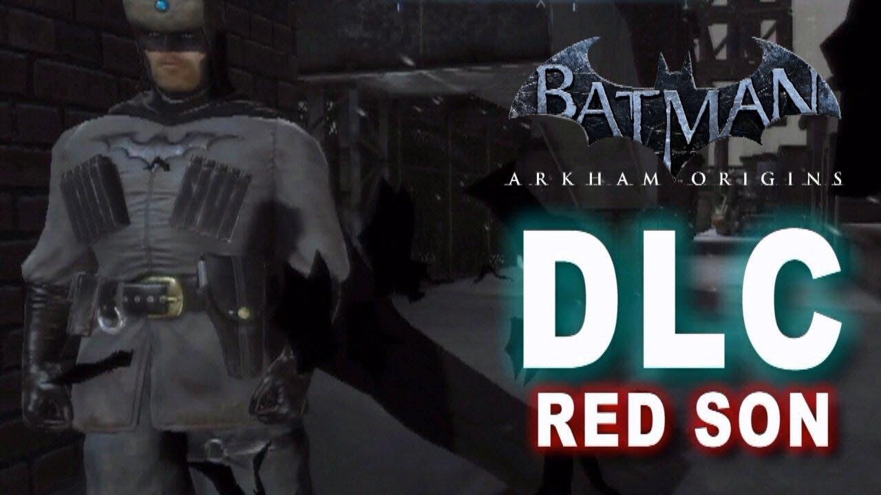 Batman Arkham Origins - Red Son Batman DLC  amp  Lore - YouTube