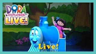 Dora the Explorer LIVE! - Sizzle. Game Walkthrough