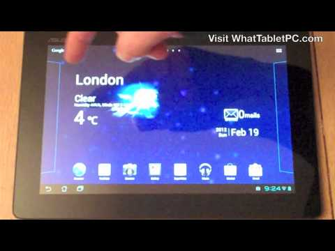 How To Use Android 4 Tablets - Basics Of The Operating System - Tutorial For Android