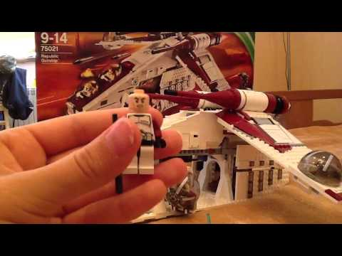 Lego Star Wars Republic Gunship-обзор на русском.1.
