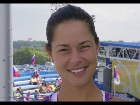 Ana Ivanovic's Favorite Song is Blurred Lines by Robin Thicke