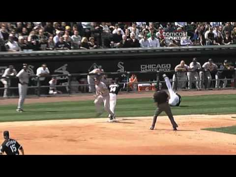 2010/04/05 Buehrle's backhand play