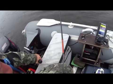 рыбалка летом с эхолотом