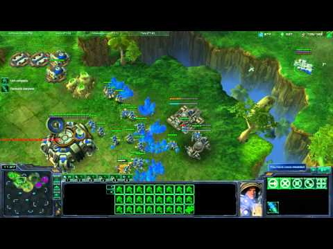 Starcraft II - Terran Tutorial Working up from Bronze League - Part2