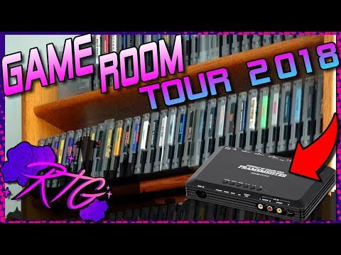 Modern GAME ROOM TOUR 2018 ~ 100 SUB SPECIAL ~ RoseTintGaming