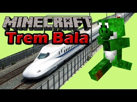Minecraft com Mods - Trem Bala - EP53