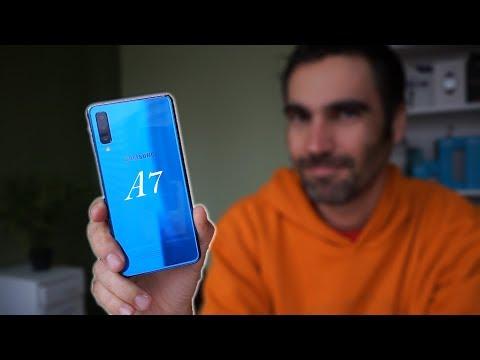 Samsung Galaxy A7 2018   review en español