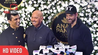 Hrithik Roshan's Father Rakesh Roshan Funny Reaction On Krrish 4 | Anand Pandit Diwali Party