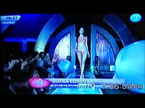 Swimsuit competition Miss EL Salvador 2013