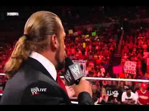 Triple H John Cena Sheamus and Cm Punk speaks about the walk out Part 1