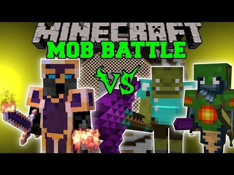 PYRO VS TRITON, SHAMAN, & MORE - Minecraft Mod Battle - Mob Battles - Mods
